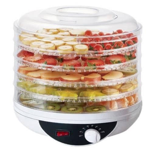 Αποξηραντής τροφίμων φρούτων και λαχανικών 250W με ανεμιστήρα ξήρανσης Muhler DHY-500T