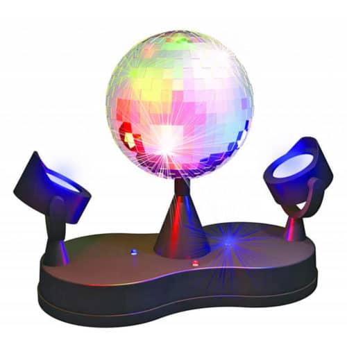 Διασκεδαστική Ντίσκο Μπάλα για πάρτυ και γιορτές με Led προβολείς Party Fun Lights 86521
