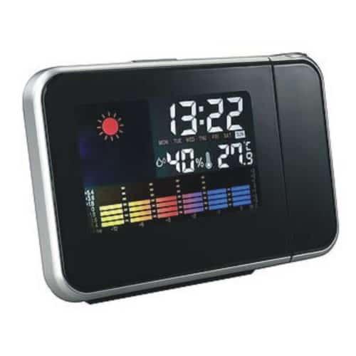 Ρολόι ξυπνητήρι με προτζέκτορα και ένδειξη ημερομηνίας και θερμοκρασίας
