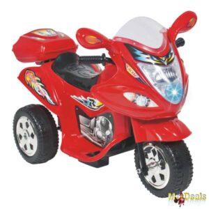 Παιδική Ηλεκτροκίνητη Μηχανή με παλλόμενα φώτα και μουσική Street Rider 6V 68x39x48cm