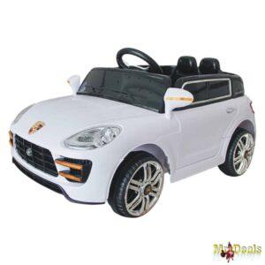 Παιδικό Ηλεκτροκίνητο Μονοθέσιο Αυτοκίνητο Jeep Τύπου Porsche 12V με Χειριστήριο 98x51x41cm