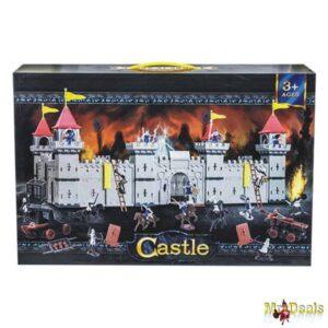 Παιχνίδι Κάστρο 109 τεμ για δραστήρια παιδιά και ψαγμένους γονείς διάστασης 72x50x33cm