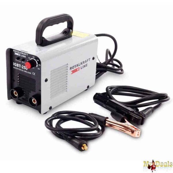 Συσκευή Ηλεκτροσυγκόλλησης τεχνολογίας inverter με θερμική προστασία και ανεμιστήρα