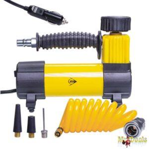 Ηλεκτρικό Κομπρεσέρ Αέρα Τρόμπα Αυτοκινήτου 96W 100psi 12V με 3 ακροφύσια