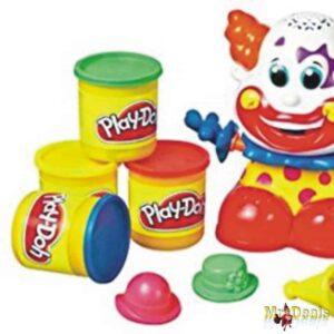 Κλόουν της Play Doh με 8 Δοχεία και ΔΩΡΟ 4 επιπλέον δοχεία Play Doh
