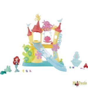 Παιχνίδι Θαλάσσιο κάστρο της Άριελ και του Σεμπάστιαν με τσουλήθρα κούνια και νεσεσέρ