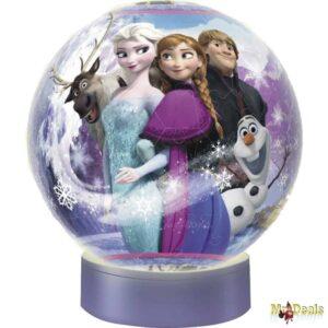 Παζλ Μπάλα λάμπα 3D χτυπώντας παλαμάκια ανάβει και σβήνει Ravensburger Frozen