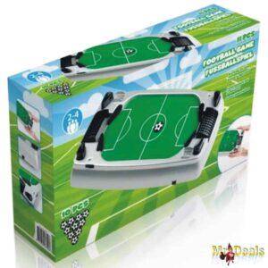 Ποδοσφαιράκι Φλίπερ με Αέρα 41x23x9cm με 10 μπαλάκια ποδοσφαίρου