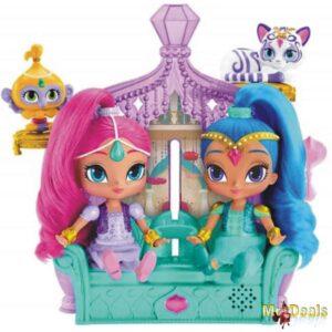 Σετ παιχνιδιού με κούκλες Shimmer and Shine Deluxe για τηλεοπτικές στιγμες των μικρών κοριτσιών