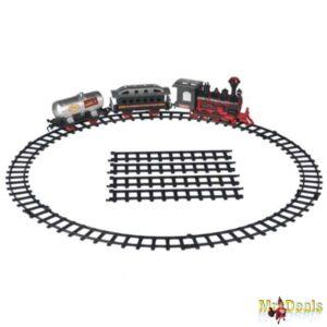 Τρένο μπαταρίας με καπνό ήχο φώς Eddy Toys