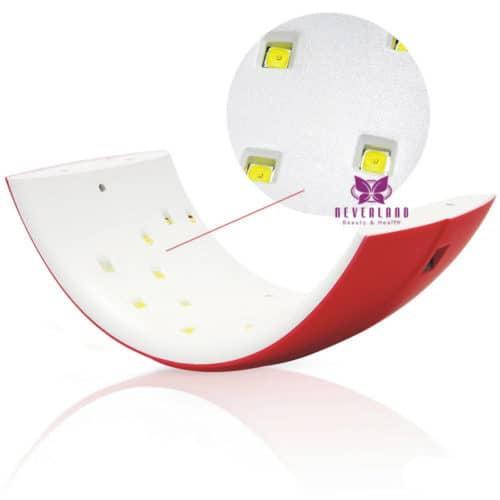Επαγγελματικό Φουρνάκι Νυχιών με Λάμπες LED UV 24W και LCD Oθόνη Sun