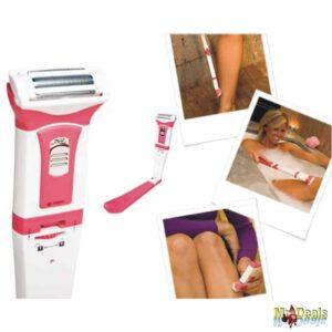 Γυναικεία φορητή αδιάβροχη ξυριστική μηχανή για λείο και απαλό δέρμα, Silk Ease