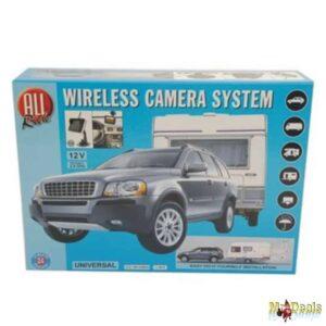 Σύστημα Παρκαρίσματος με Universal Αδιάβροχη Ασύρματη Κάμερα οπισθοπορείας