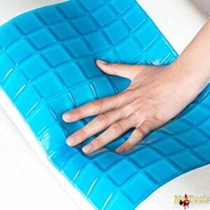 Ανατομικό εργονομικό μαξιλάρι αφρού Memory Foam 30x50x9cm με επένδυση Gel