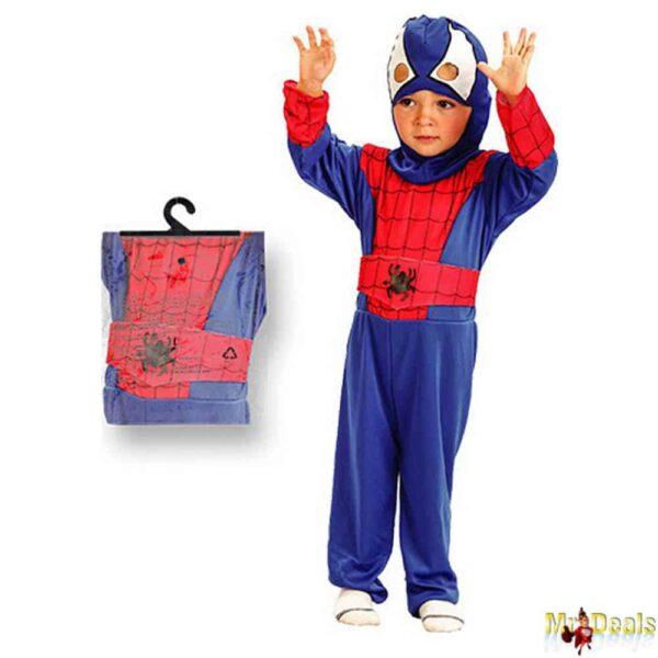 Αποκριάτικη Παιδική Στολή Μπεμπέ Αράχνη Spiderman
