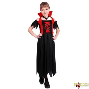 Αποκριάτικη Παιδική Στολή Μπεμπέ Δράκουλα κοριτσίστικη