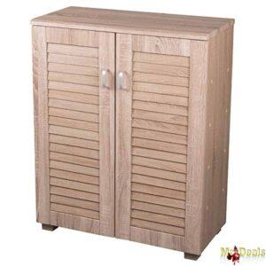 Ξύλινο Έπιπλο Συρταριέρα Ντουλάπα 68x32x85.5cm με 4 Συρτάρια και 2 φύλλα πόρτες Homestyle
