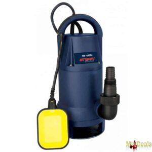 Υποβρύχια Αντλία Λυμάτων 400W με δυνατότητα βύθισης έως 5m από σκληρό πλαστικό μακράς διάρκειας
