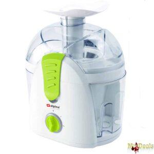 Ηλεκτρικός Αποχυμωτής Φρούτων και Λαχανικών 400W 1500ml με 2 ταχύτητες σε Λευκό και Λαχανί χρώμα