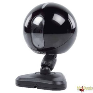 IP κάμερα εσωτερικού χώρου MJPEG με νυχτερινή όραση σε Μαύρο Χρώμα Konig