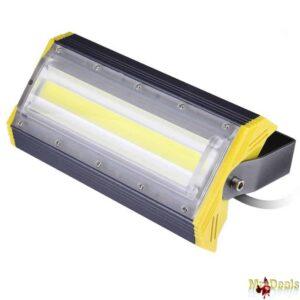 Προβολέας LED 50W Αδιάβροχος IP65 Υψηλής Απόδοσης 3000 έως 6000K Λευκού Φωτός