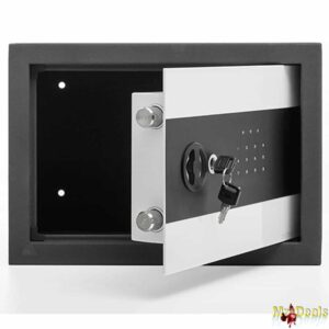 Ψηφιακό Χρηματοκιβώτιο Ασφαλείας Με Ηλεκτρονική Κλειδαριά Και Κλειδί για μέγιστη ασφάλεια 35x25x25cm