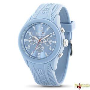 Ρολόι Sport Αντρικό με ελβετικό μηχανισμό Quartz σε Light Blue χρώμα με ασημί δείκτες