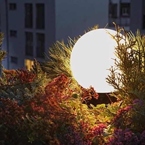 Αδιάβροχο Φωτιστικό Λάμπα LED Στρογγυλό με Τηλεκοντρόλ και αλλαγή 7 χρωμάτων