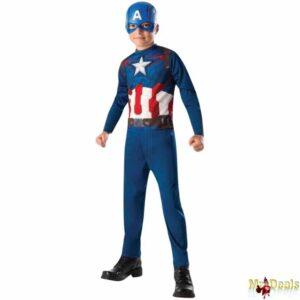 Αποκριάτικη Παιδική Στολή Captain America