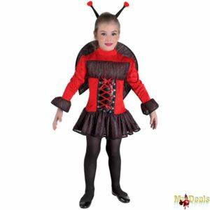 Αποκριάτικη Παιδική Στολή Φανταστική Ladybug