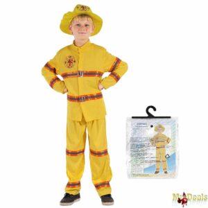 Αποκριάτικη Παιδική Στολή Πυροσβέστης