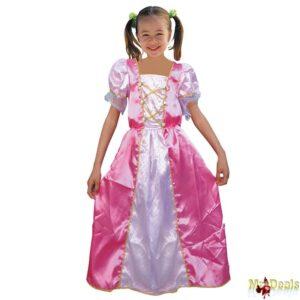 Αποκριάτικη Παιδική Στολή Πριγκήπισσα Ροζ