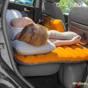 Φουσκωτό Στρώμα για Αυτοκίνητα με Βελούδινη επιφάνεια και 2 μαξιλάρια