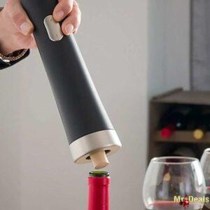Ηλεκτρικό Τιρμπουσόν Ανοιχτήρι Μπουκαλιών κρασιού με μία μόνο κίνηση, InnovaGoods