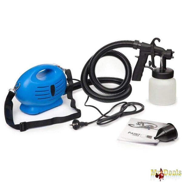 Ηλεκτρικό Πιστόλι Βαφής Σπρέι 650W για Συντήρηση και Φροντίδα του Σπιτιού μόνοι σας!