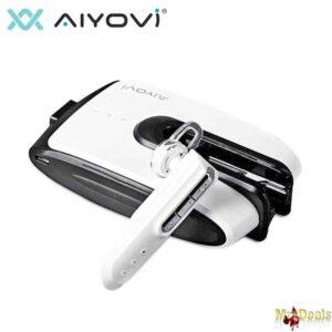 Aκουστικό bluetooth headset και ισχυρό power bank 5.200mAh σε μια συσκευή 2 σε 1