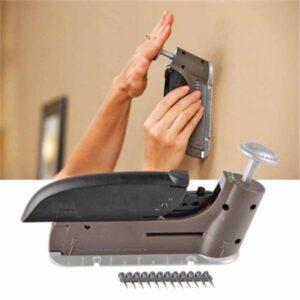 Ειδικό πιστόλι εύκολου καρφώματος τοίχου με 36τμχ χωρίς τρυπάνια και σφυριά Insta hang