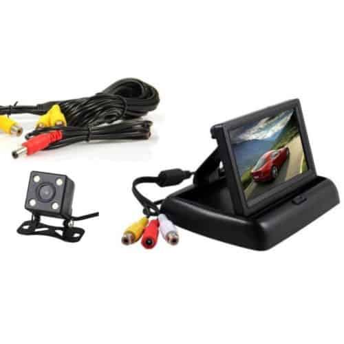 Πλήρες σετ κάμερας οπισθοπορείας αυτοκινήτου με έγχρωμο TFT μόνιτορ 4,3'' και κάντε το παρκάρισμα παιχνίδι