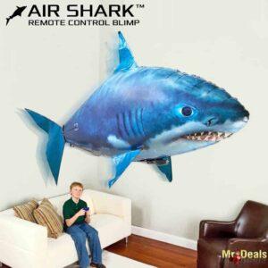 Τηλεκατευθυνόμενος ιπτάμενος καρχαρίας με πραγματικές κινήσεις καρχαρία και εμβέλεια χειριστηρίου έως 12m