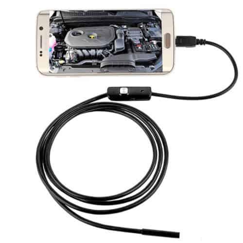 USB ενδοσκοπική αδιάβροχη κάμερα μικροσκόπιο με φωτισμό 6x LED για κινητά τηλέφωνα, tablet και PC 10 μέτρων