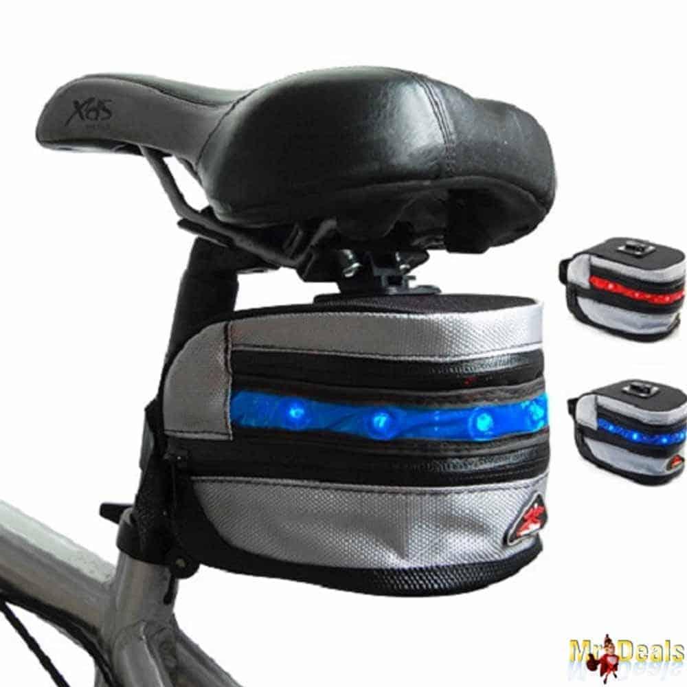 2σε1 αδιάβροχη τσάντα ποδηλάτου και φως LED με 3 λειτουργίες από υψηλής ποιότητας υλικό