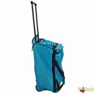 Αθλητική Τσάντα Βαλίτσα Τρόλει 65x34x35cm με Τηλεσκοπικό Χερούλι, Ροδάκια & Κλείδωμα Ασφαλείας Slazenger