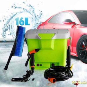 Φορητό Σύστημα Πλύσης Υψηλής Πίεσης Αυτοκινήτου 16 Λίτρων 12V ιδανική για οποιοδήποτε χρήση