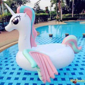Φουσκωτό Στρώμα Θαλάσσης Μονόκερος διάστασης 150cmX100cm για παιχνίδια στη θάλασσα ή την πισίνα
