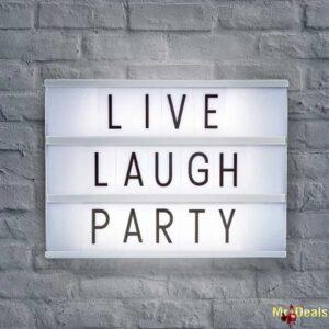 Πινακίδα LED τοίχου και επιτραπέζια, γράψτε το μήνυμά σας κι εμφανίστε το όπου θέλετε!