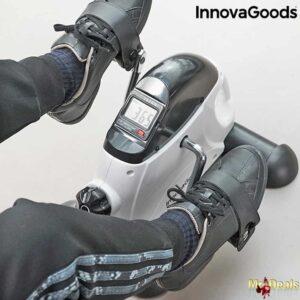 Στατικό Μεταλλικό Ποδήλατο Γυμναστικής με 5 λειτουργίες διάστασης 35x31x39cm InnovaGoods