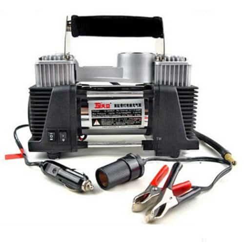 Ηλεκτρική τρόμπα αέρος αυτοκινήτου 2 κυλίνδρων υψηλής απόδοσης ισχύς 12V 150psi