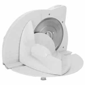 Μηχανή Κοπής Ηλεκτρικό Μαχαίρι Ψωμιού Αλλαντικών ή Τυριών 180W με ισχυρό μοτέρ σε λευκό χρώμα Clatronic