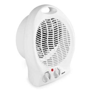 Φορητό Αερόθερμο με Ρυθμιζόμενο Θερμοστάτη 2000W και Λαβή μεταφοράς σε Λευκό χρώμα, Tristar