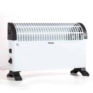 Ηλεκτρική Σόμπα Θερμάστρα Συναγωγής 1500W σε Λευκό και Μαύρο χρώμα, 49x33x18cm, Tristar